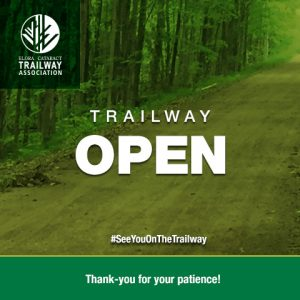 Trailway open