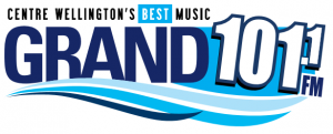 The Grand 101.1 FM logo