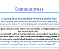 May 28 – Communitrees – Join us for a Stewardship Morning on the Trailway